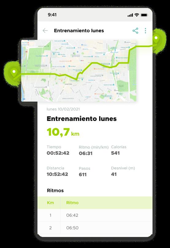 Entrenamiento GPS