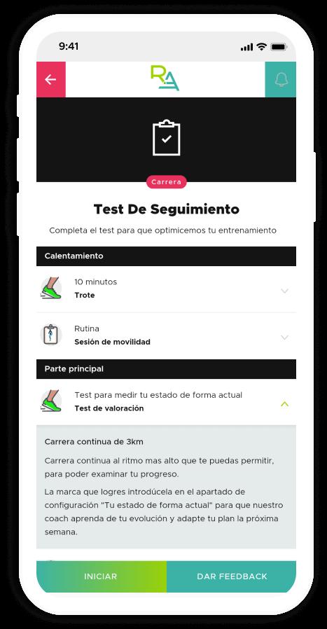 Test de seguimiento